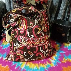 Large Vera Bradley tote style shoulder bag